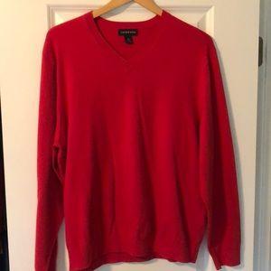 Men's Lands End sweater